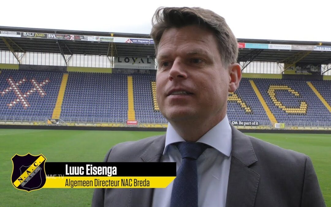 Algemeen Directeur Luuc Eisenga en NAC Breda uit elkaar