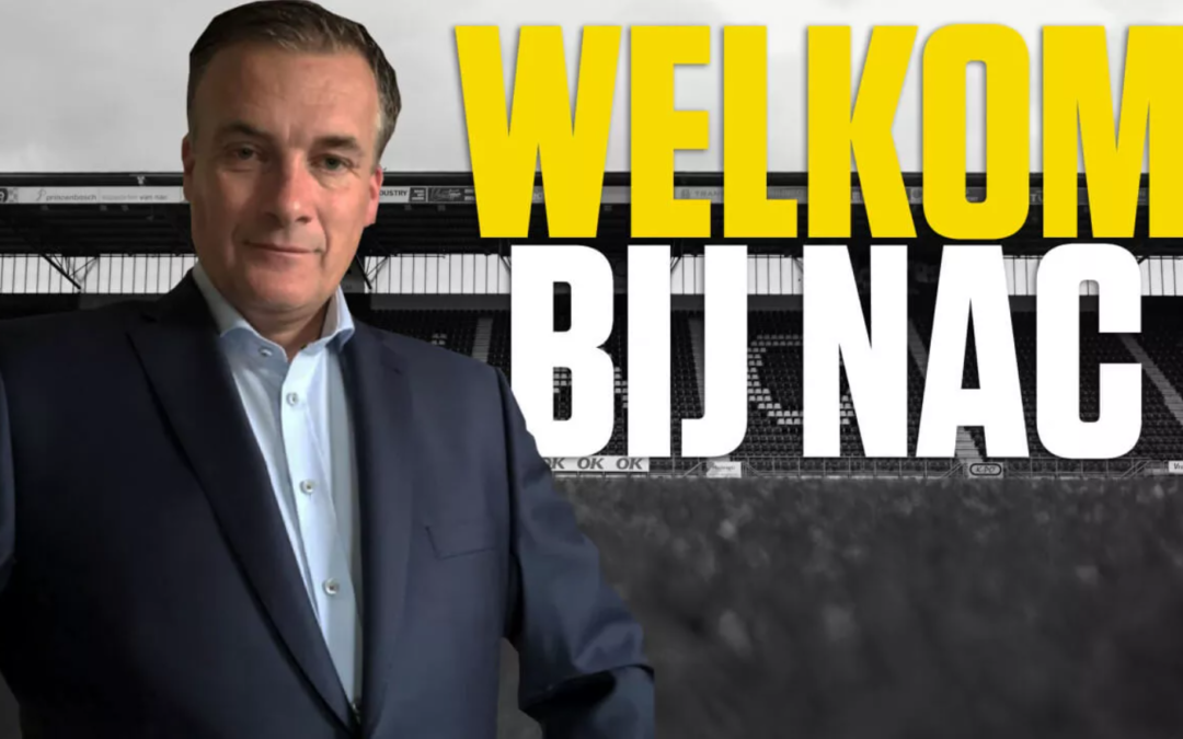 Joris Gieske nieuwe Manager Sales & Marketing bij NAC Breda
